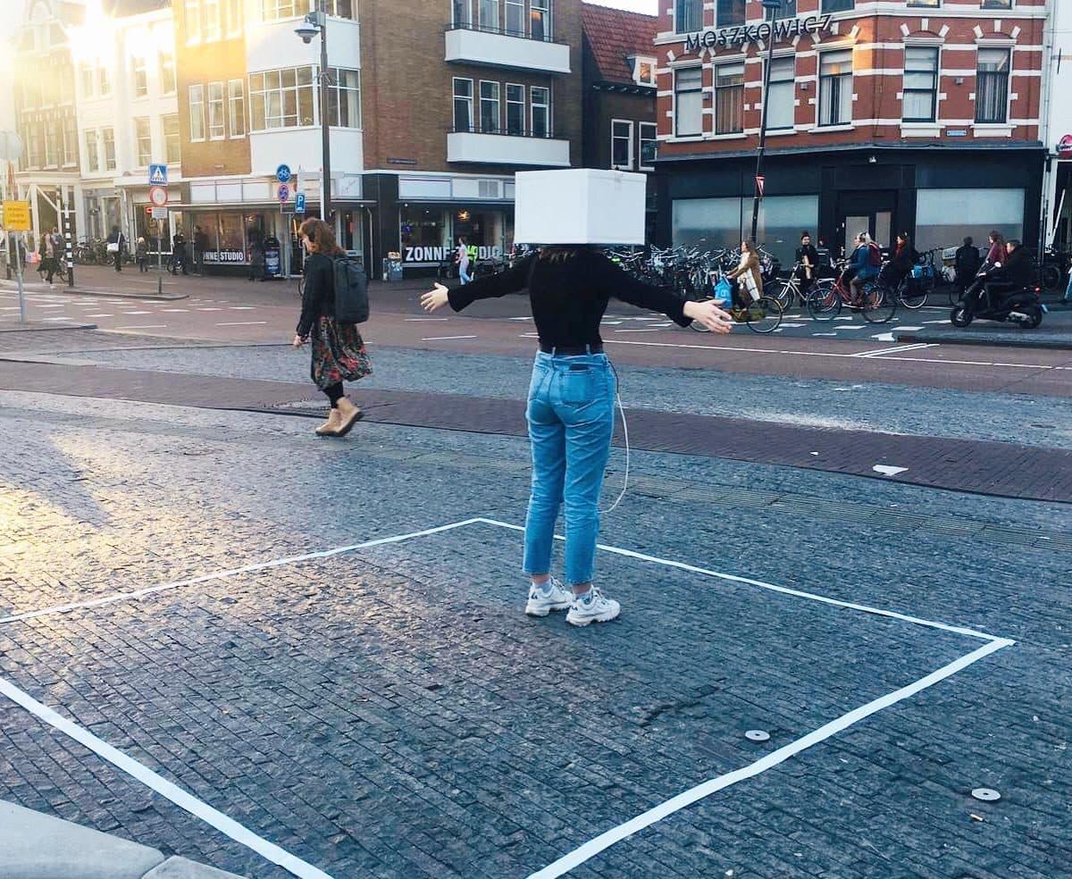 Pleinprologen op straat