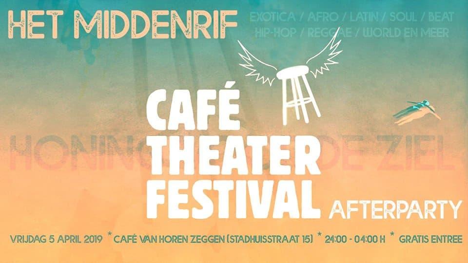 Vrijdag 5-4: Afterparty bij Café Van Horen Zeggen