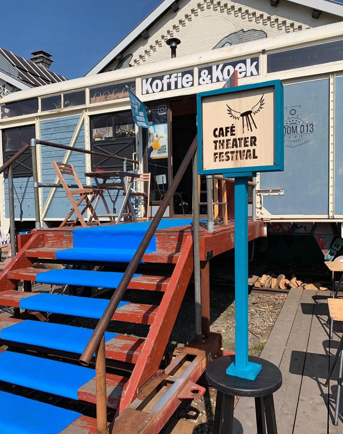 Een nieuwe locatie voor Café Theater Festival Tilburg: Stoom013