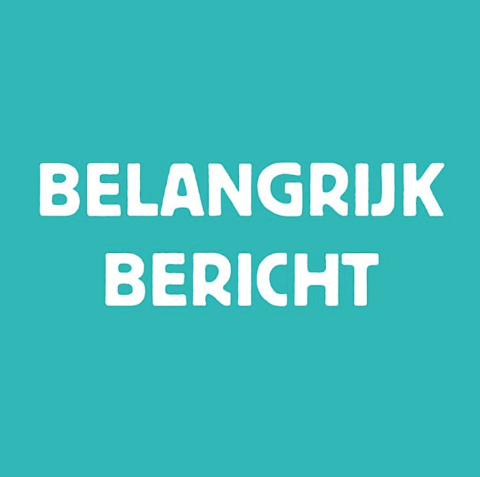 Belangrijk bericht: Cafe Theater Festival Tilburg uitgesteld