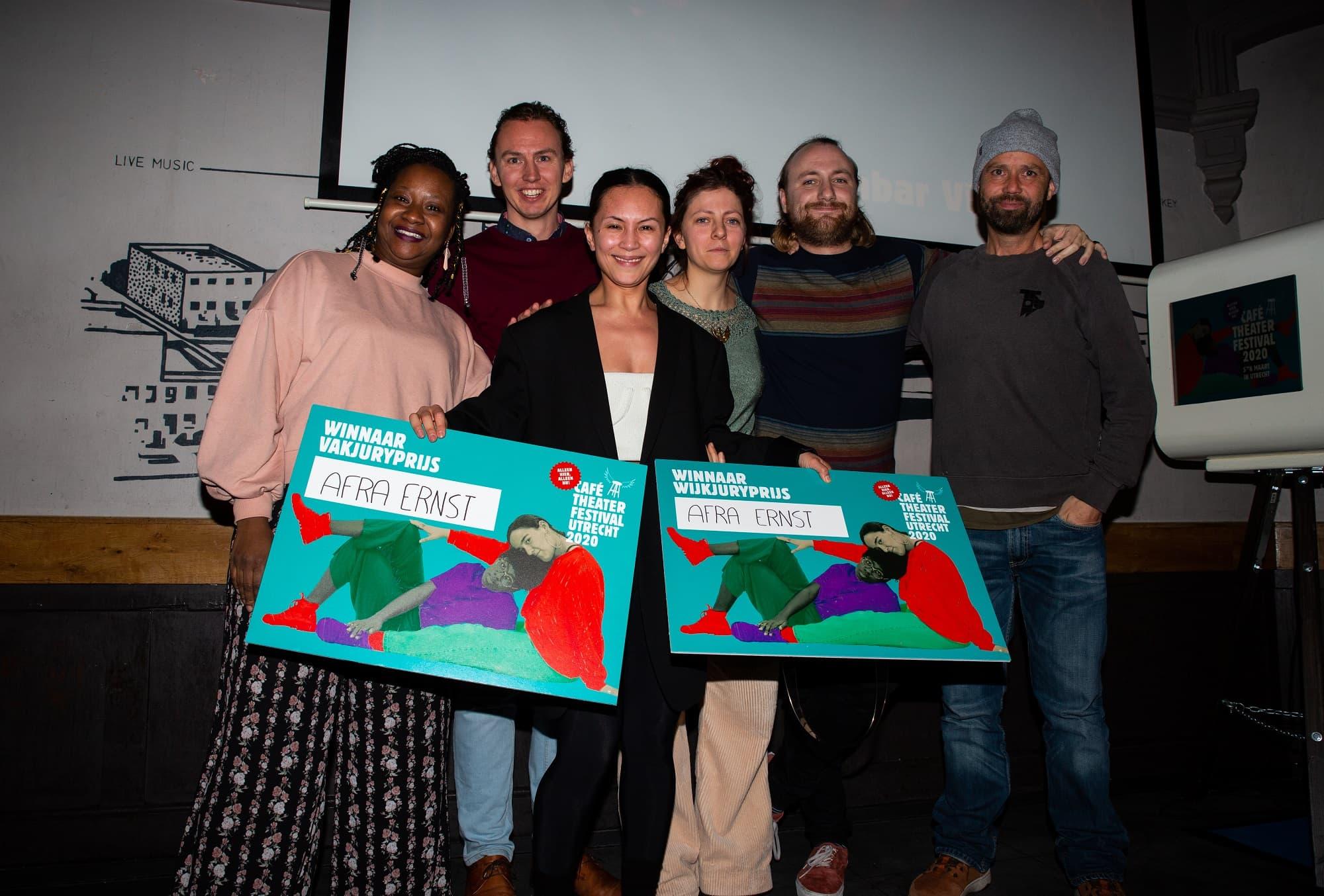Prijswinnaars Café Theater Festival Utrecht 2020 bekend